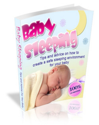 Product picture Baby Sleeping Guide - Tips an advice